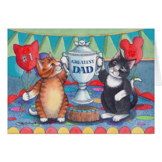 B & T #86 Greatest Dad Father's Day Notecard