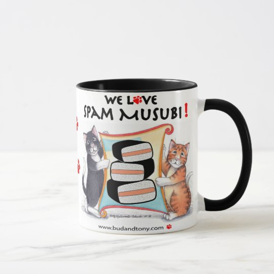B & T Spam Musubi Mug