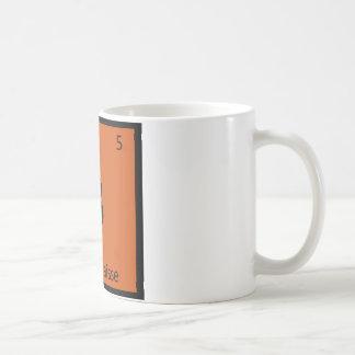 B - Tabla periódica de la química del guisado del Taza De Café