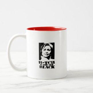 B- tch is the new black mug