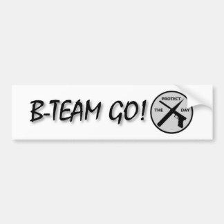 B-Team Go! Bumper Sticker Car Bumper Sticker