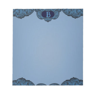 B - The Falck Alphabet (Blue) Notepad