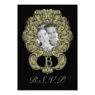 B - The Falck Alphabet (Golden) Card