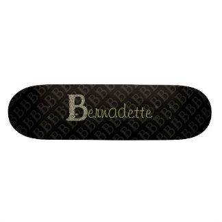 B - The Falck Alphabet (Golden) Skate Board Decks