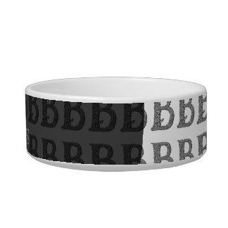 B - The Falck Alphabet (Silvery) Bowl
