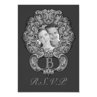 B - The Falck Alphabet (Silvery) Card