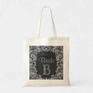 B - The Falck Alphabet (Silvery) Tote Bag