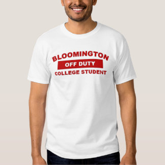 B-Town, Bloomington Indiana Tshirts