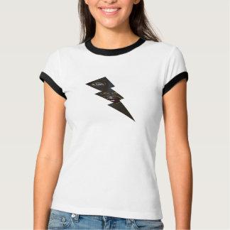 "B. U. Live Free Women's ""Dark Lightning"" Shirt"