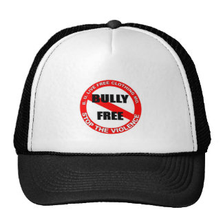 """B.U. LiveFree """" Stop The Bullying """" Trucker Hat"""