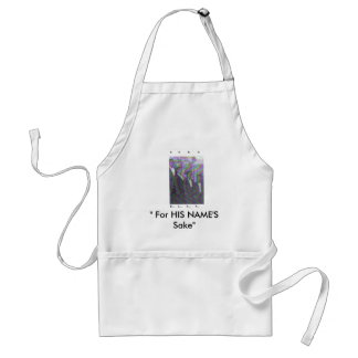 "B.U.M.S. IV, "" For HIS NAME'S Sake"" Adult Apron"