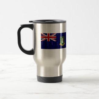 B V de madera Islander Flag Tazas De Café