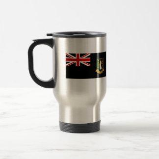 B V nervioso moderno Islander Flag Taza De Café