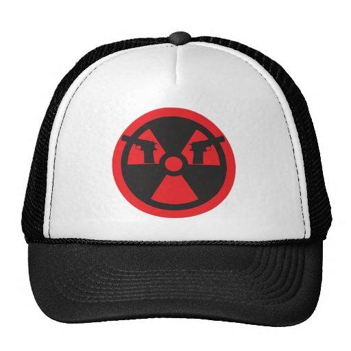 B-Viuda nuclear Gorros Bordados