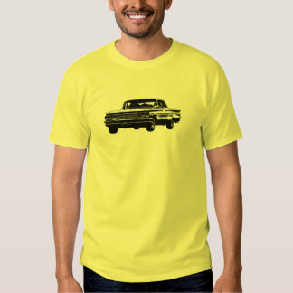 B&W 1960 Pontiac front view Shirt