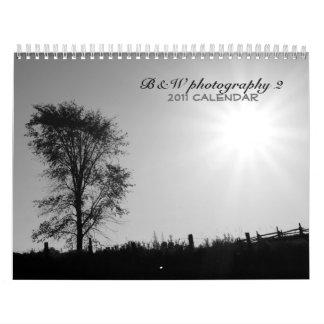 b&w 2 - 2011 calendar