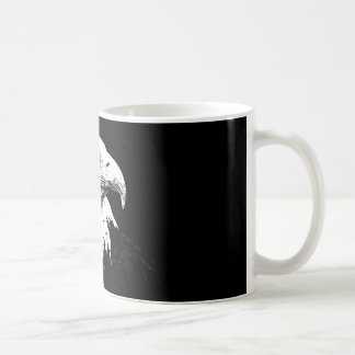 B&W American Bald Eagle Coffee Mug