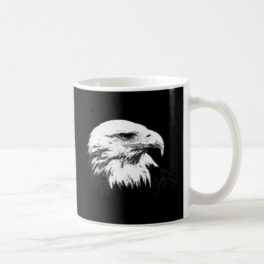 B&W American Bald Eagle Coffee Mug