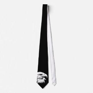 B&W American Bald Eagle Neck Tie