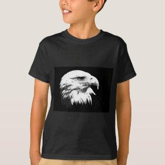 B&W American Bald Eagle T-Shirt