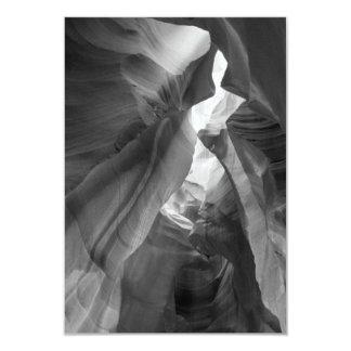 B&W Antelope Canyon 2 Card