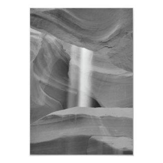B&W Antelope Canyon 3 Card