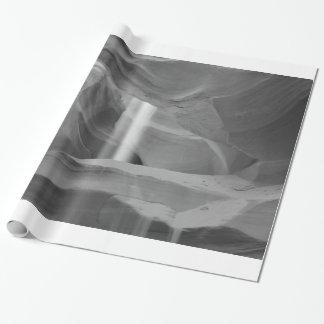 B&W Antelope Canyon 3 Wrapping Paper