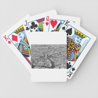 B&W Arc de Triomphe 5 Bicycle Playing Cards