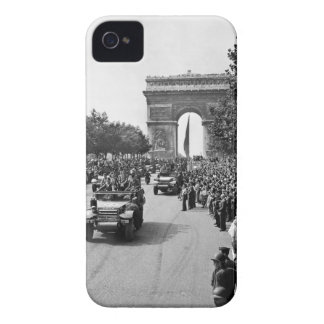 B&W Arco del Triunfo 2 iPhone 4 Case-Mate Cárcasas