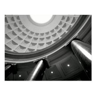 B&W Atrium Postcard