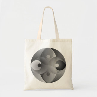 B/W Balance by Kenneth Yoncich Tote Bag