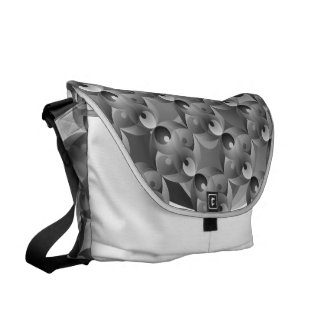 B/W Balance Messenger Bag