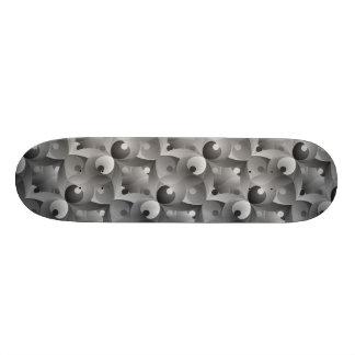 B/W Balance Skateboard