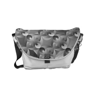 B/W Balance Small Messenger Bag