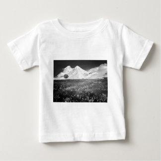 B&W Beautiful Alps Baby T-Shirt