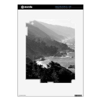 B&W Big Sur iPad 2 Decals