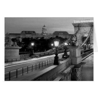 B&W Budapest Card