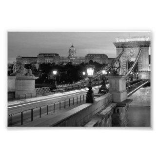 B&W Budapest Photo Print