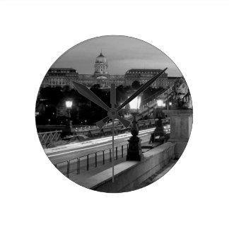 B&W Budapest Round Clock