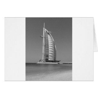 B&W Burj Al Arab Card