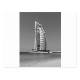 B&W Burj Al Arab Postcard