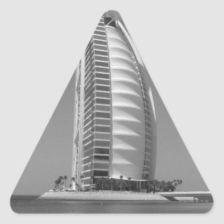 B&W Burj Al Arab Triangle Sticker