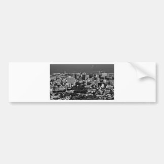 B&W Cape Town Bumper Sticker