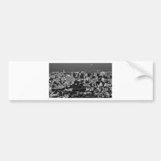 B&W Cape Town Bumper Sticker