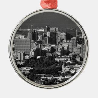 B&W Cape Town Metal Ornament