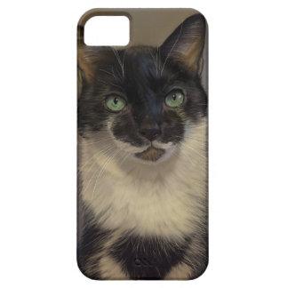 B&W Cat iPhone SE/5/5s Case