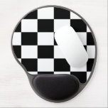 "B&amp;W Checkered Gel Mousepad<br><div class=""desc"">B&amp;W Checkered Gel Mousepad</div>"