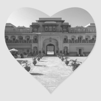 B&W Chomu Palace Heart Sticker