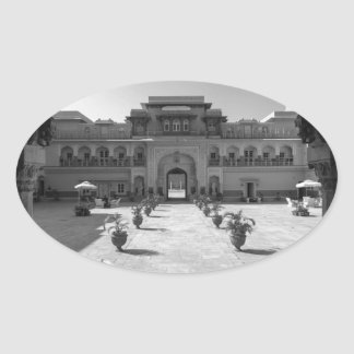 B&W Chomu Palace Oval Sticker