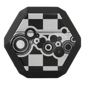 B&W Circles & Checkers Portable Bluetooth Speakers